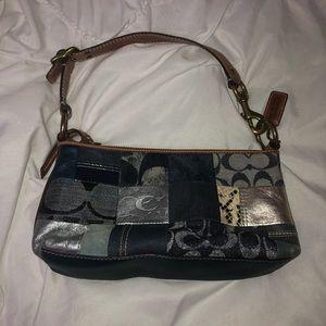 Vintage Coach Mini Handbag w/ Matching Coin Purse
